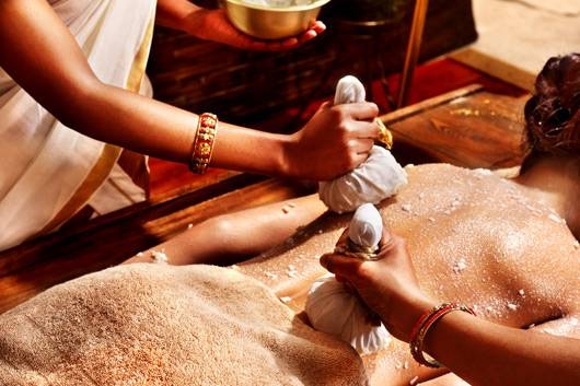 ayurveda relaxing program